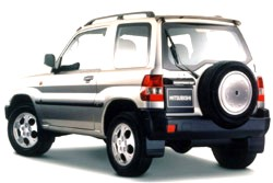 Mitsubishi Shogun Pinin review covering 2000 - 2006