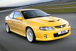 Vauxhall Monaro review covering 2004 - 2006