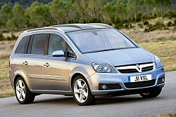 Vauxhall Zafira review covering 2005 To Date