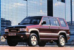 Vauxhall Monterey review covering 1994 - 1999