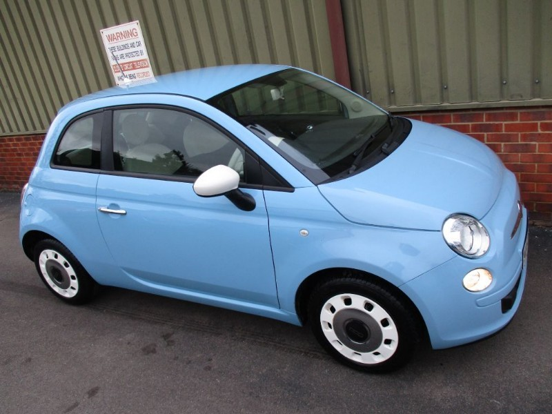Used Volare Blue Fiat 500 For Sale Berkshire