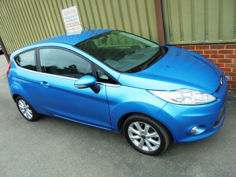 Used Metallic Vision Blue Ford Fiesta for Sale | Berkshire