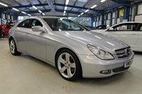 Used Mercedes CLS320 CDI CDI [SAT NAV / FULL BLACK LEATHER]