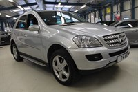 Used Mercedes ML320 CDI SPORT [SAT NAV / LEATHER / SIDE STEPS]