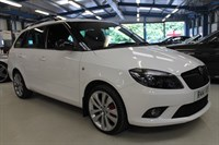 Used Skoda Fabia VRS DSG [VERY LOW MILEAGE]