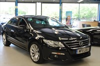 Used VW Passat CC GT TDI BLUEMOTION TECHNOLOGY DSG (SAT NAV / LEATHER/1 OWNER)