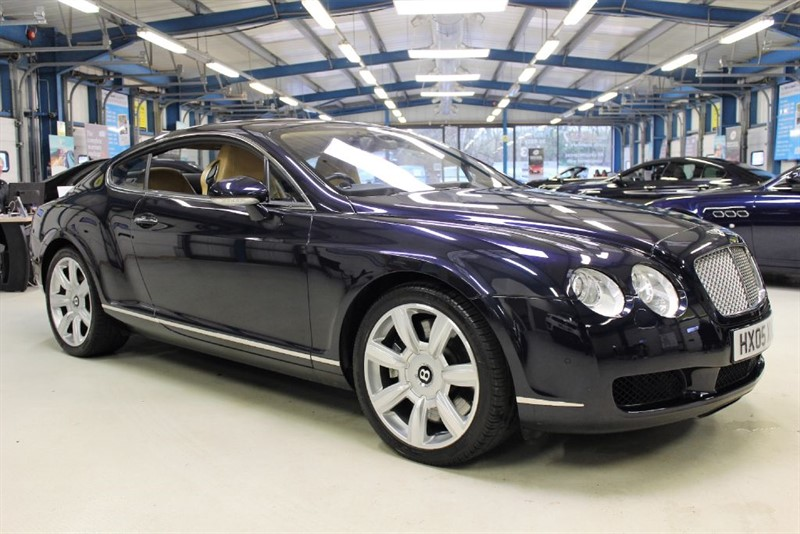 "used Bentley Continental GT W12 [SAT NAV /XENONS /LEATHER /20""s] in basingstoke-hampshire"