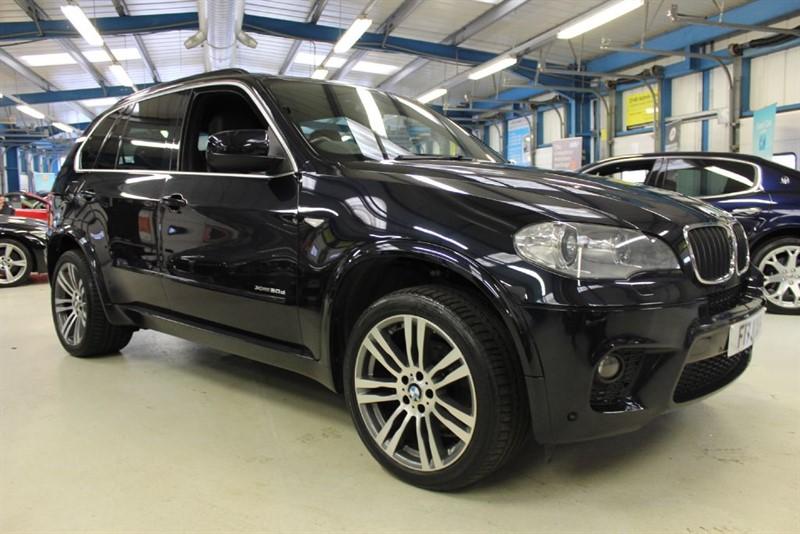 used BMW X5 XDRIVE30D M SPORT [SAT NAV / LEATHER /7 SEATS in basingstoke-hampshire