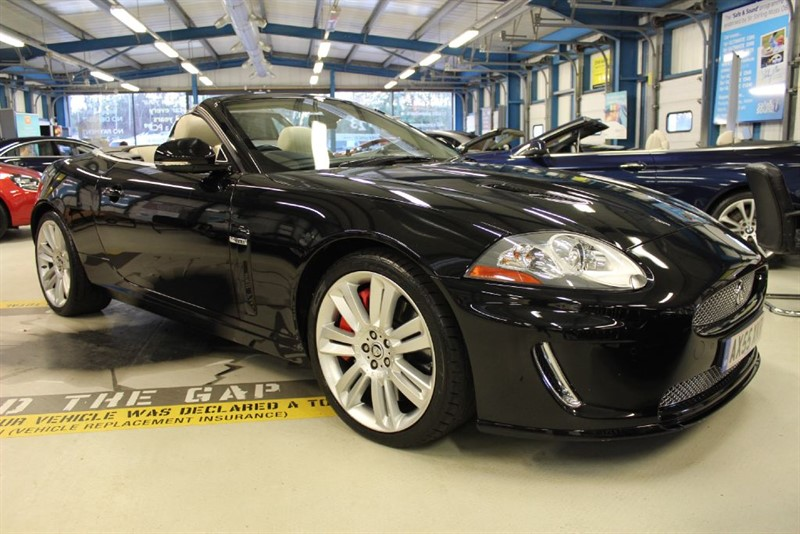 used Jaguar XKR Supercharged [SAT NAV / LEATHER / LOW MILES] in basingstoke-hampshire