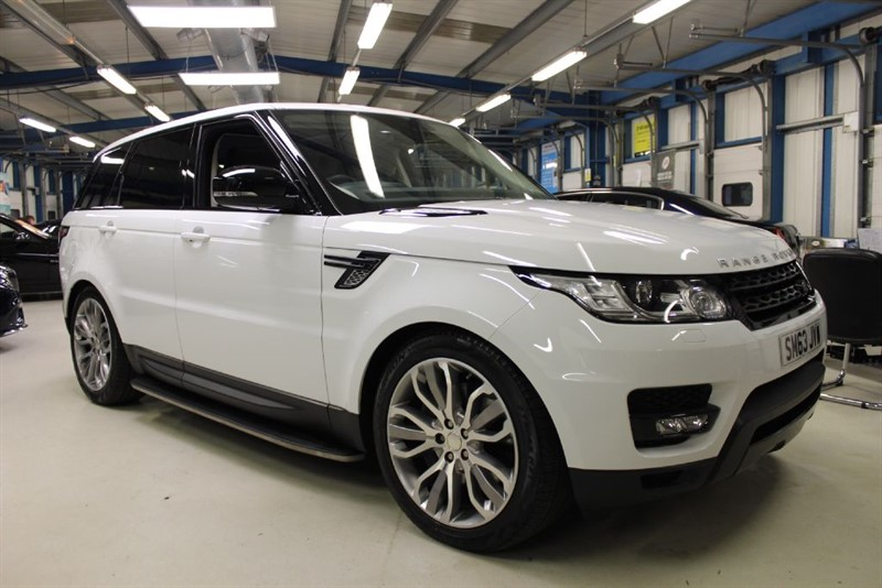 "used Land Rover Range Rover Sport SDV6 HSE DYNAMIC [1 OWNER/PANO ROOF/7 SEATS/21""s] in basingstoke-hampshire"