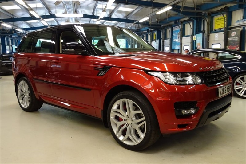 used Land Rover Range Rover Sport V8 AUTOBIOGRAPHY DYNAMIC in basingstoke-hampshire