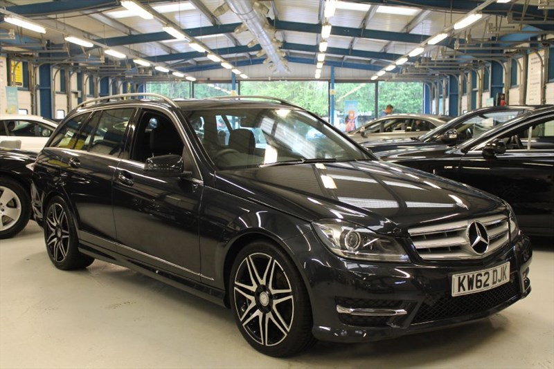 used Mercedes C250 CDI BLUEEFFICIENCY AMG SPORT PLUS (UNBEATABLE LOW MILEAGE) in basingstoke-hampshire
