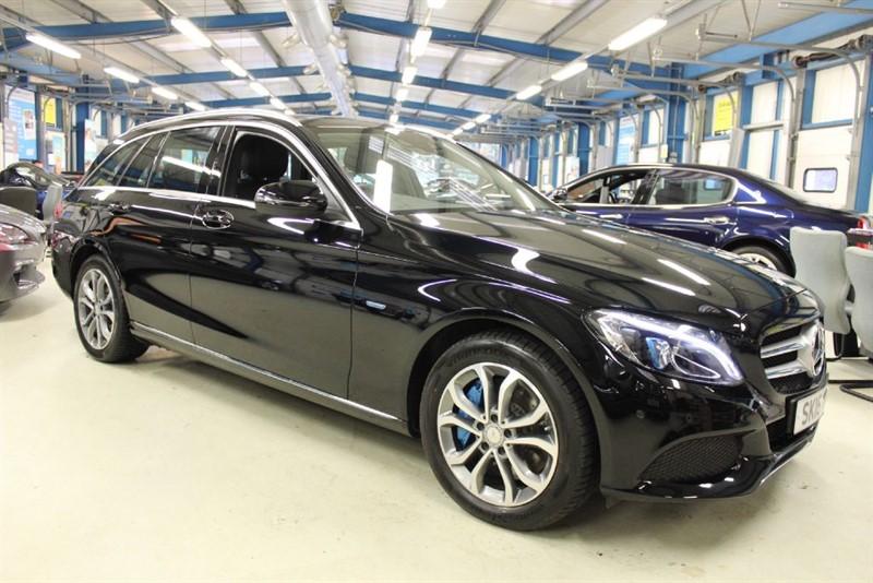 used Mercedes C350 E SPORT [SAT NAV / LEATHER / PARKTRONIC] in basingstoke-hampshire