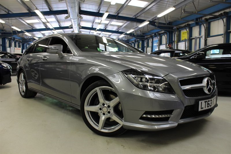used Mercedes CLS250 CDI BLUEEFFICIENCY AMG SPORT [SAT NAV / SUNROOF / LEATHER] in basingstoke-hampshire