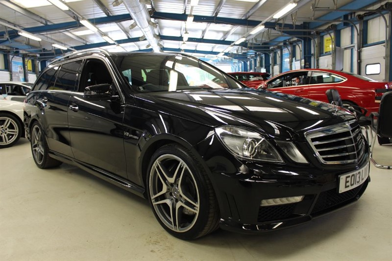 used Mercedes E63 AMG [SAT NAV / PANO ROOF / LEATHER] in basingstoke-hampshire