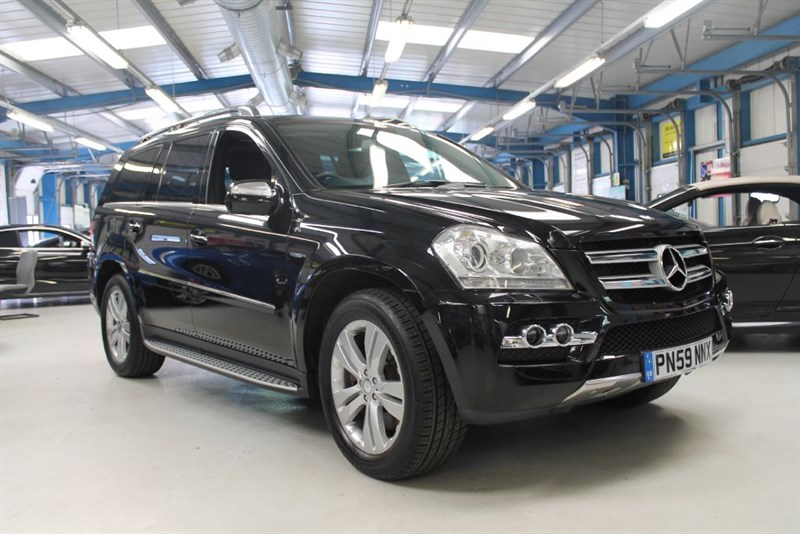 used Mercedes GL350 CDI BLUEEFFICIENCY (FULL LEATHER / SAT NAV) in basingstoke-hampshire