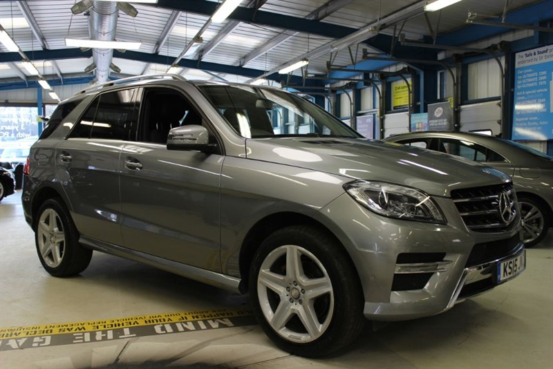 "used Mercedes ML350 BLUETEC AMG LINE [NAV /LEATHER /255BHP /20"" AMG ] in basingstoke-hampshire"