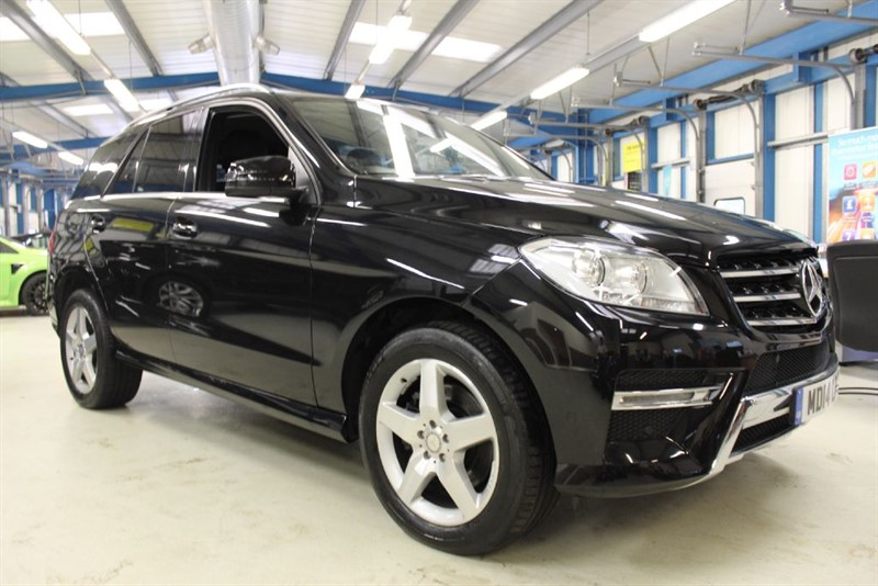 used Mercedes ML350 BLUETEC AMG SPORT [1 OWNER] in basingstoke-hampshire