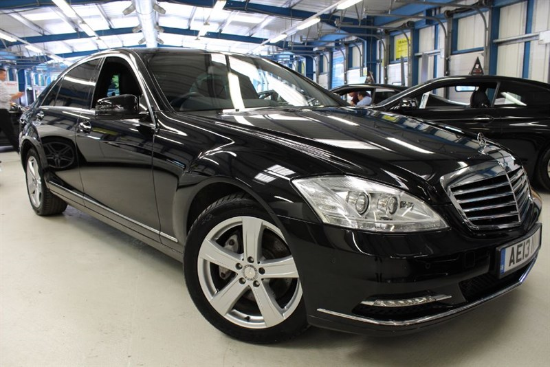 used Mercedes S350 BLUETEC L [1 OWNER / FULL LEATHER / SAT NAV] in basingstoke-hampshire