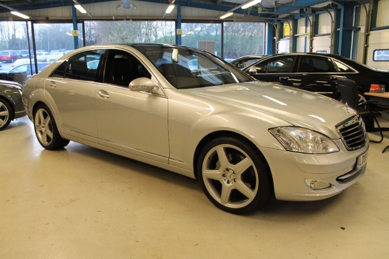 used Mercedes S500 L (MASS SPECIFICATION / 1 OWNER) in basingstoke-hampshire