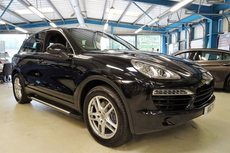used Porsche Cayenne D V6 TIPTRONIC [Private Plate Not Included] in basingstoke-hampshire