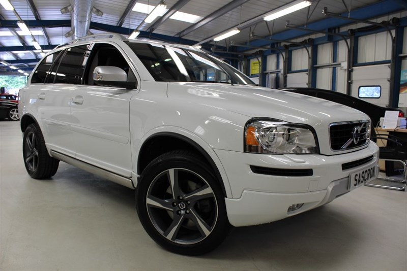 used Volvo XC90 D5 R-DESIGN AWD [SAT NAV / LEATHER / 7 SEATS] in basingstoke-hampshire
