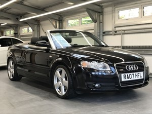 used Audi A4 TDI CABRIOLET S LINE in hook-hampshire