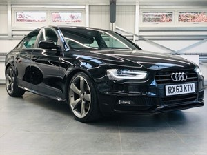 used Audi A4 TDI S LINE BLACK EDITION in hook-hampshire