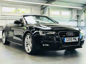 used Audi A5 TDI QUATTRO S LINE SPECIAL EDITION in hook-hampshire