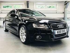 used Audi A5 SPORTBACK TFSI S LINE in hook-hampshire