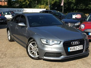 used Audi A6 TDI S LINE - SATNAV/LEATHER in hook-hampshire