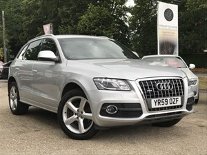 used Audi Q5 TDI QUATTRO S LINE in hook-hampshire