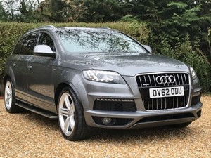 used Audi Q7 TDI QUATTRO S LINE PLUS in hook-hampshire