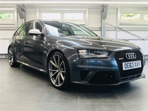 used Audi RS4 AVANT FSI QUATTRO in hook-hampshire