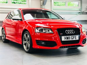 used Audi S3 SPORTBACK TFSI QUATTRO BLACK EDITION in hook-hampshire