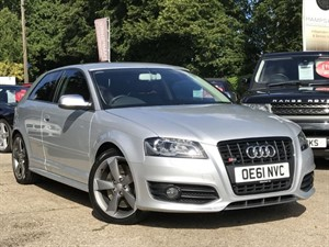 used Audi S3 TFSI QUATTRO S LINE BLACK EDITION AUTO in hook-hampshire