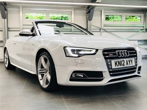 used Audi S5 TFSI QUATTRO in hook-hampshire