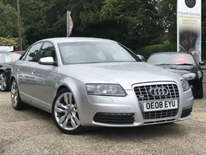 used Audi S6  V10  435BHP - SAT NAV ++ in hook-hampshire