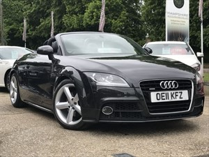used Audi TT TDI QUATTRO S LINE in hook-hampshire