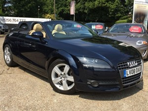 used Audi TT TFSI -  LEATHER/SAT NAV in hook-hampshire