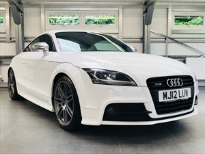 used Audi TTS TFSI QUATTRO S LINE BLACK EDITION in hook-hampshire