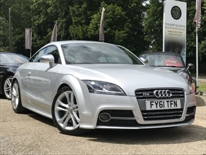 used Audi TTS TFSI QUATTRO AUTO - HIGH SPEC in hook-hampshire