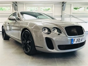 used Bentley Continental SUPERSPORTS in hook-hampshire