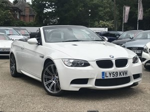 used BMW M3 DCT Convertible in hook-hampshire