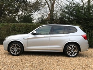used BMW X3 XDRIVE30D M SPORT in hook-hampshire