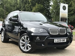 used BMW X5 SD M SPORT 7 SEAT in hook-hampshire