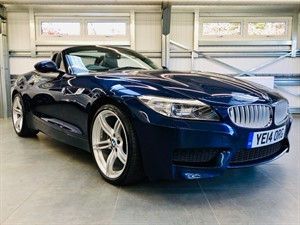 used BMW Z4 SDRIVE20I M SPORT ROADSTER in hook-hampshire