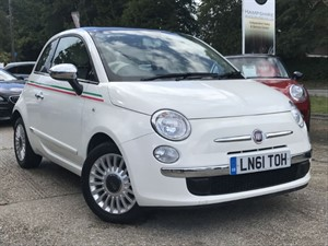 used Fiat 500 LOUNGE - PANORAMIC SUNROOF in hook-hampshire