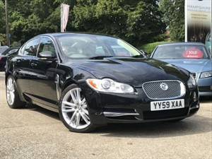 used Jaguar XF V6 S PORTFOLIO in hook-hampshire
