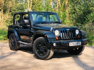 used Jeep Wrangler CRD OVERLAND in hook-hampshire